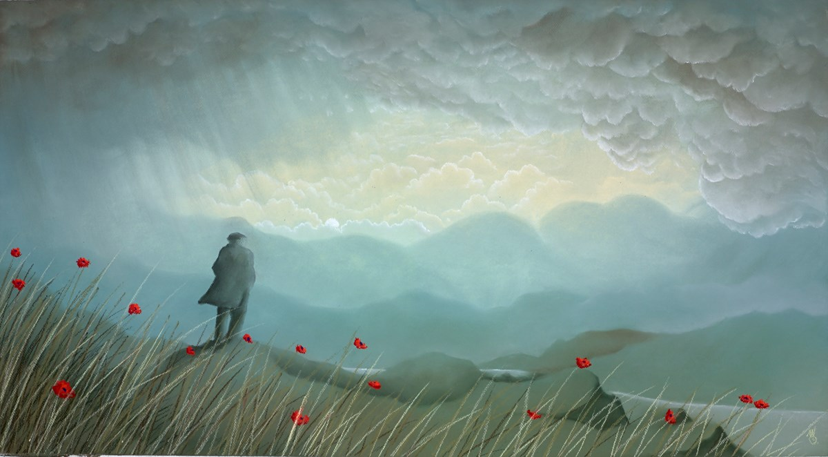 To Eternity by mackenzie thorpe -  sized 39x22 inches. Available from Whitewall Galleries